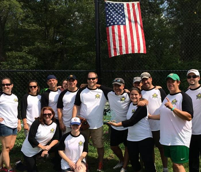 SERVPRO of Lexington/Bedford First Annual Softball Champs